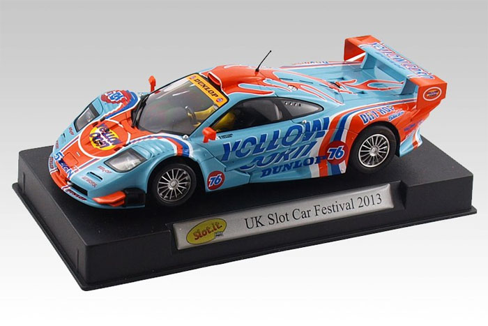 Slot It Mclaren F1 Gtr Uk Slot Car Festival 2013 Show Car